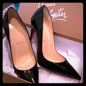 Christian louboutin kate patent pump shoe